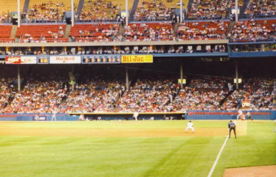 From Left Field - Cleveland Stadium