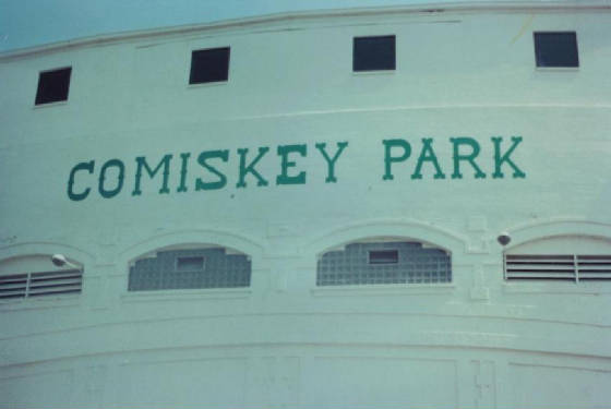 COMISKY PARK - UNCLE BOB'S BALLPARKS
