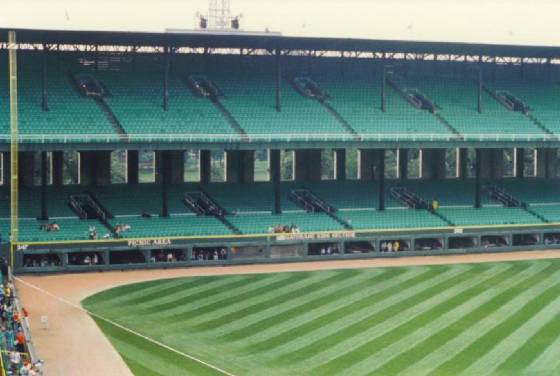 The Outfield Wall - Comisky Park