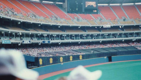 The Scoreboard - Three Rivers Stadium