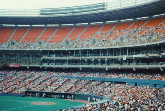 Behind Home Plate - Three Rivers Stadium