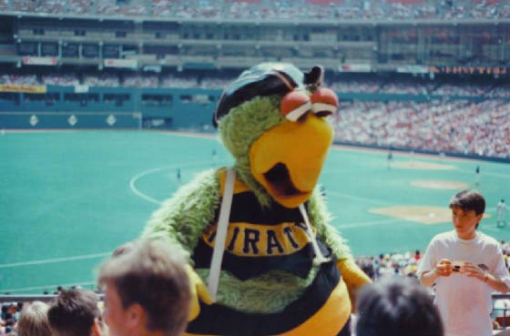 The Pirate Parrot - Three Rivers Stadium