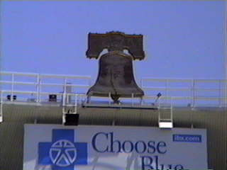 The Liberty Bell at Veterans Stadium